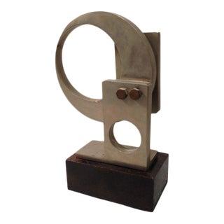1930's Steel & Wood Sculpture