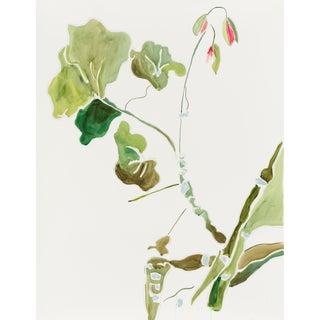 """Kate Lewis """"Everyone's Favorite Geranium"""" Original Painting For Sale"""