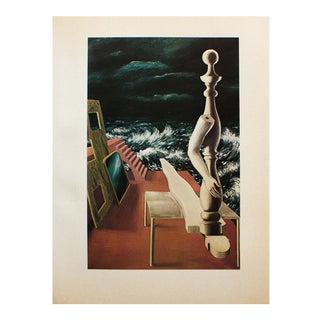"""1972 Rene Magritte, """"The Birth of the Idol"""" Original Photogravure For Sale"""