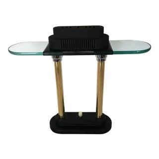 1980's Postmodern Sonneman Style Desk Lamp For Sale
