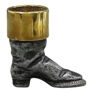 19th C. English Riding Boot Match Strike For Sale