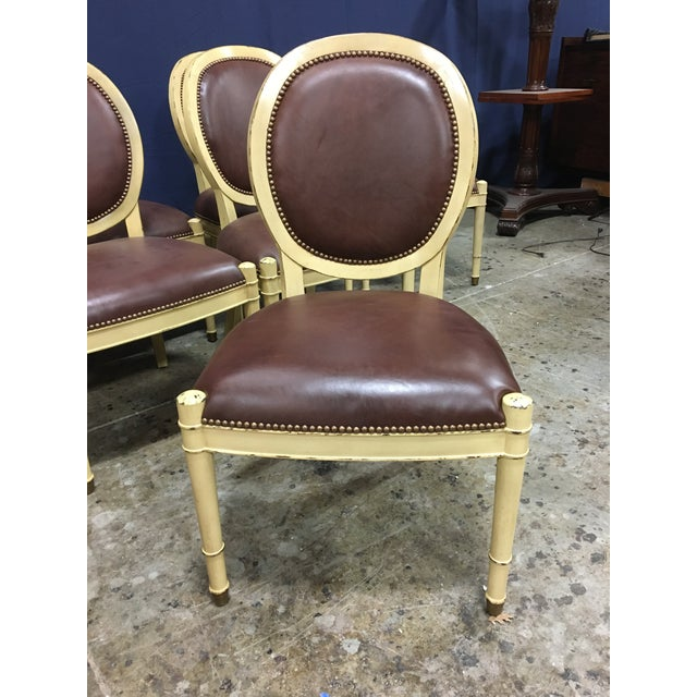 Baker Oval Back Side Chairs - Set of 10 For Sale In Atlanta - Image 6 of 12