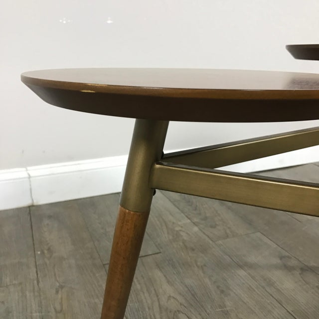 West Elm Mid-Century Modern Tri Surface Coffee Table - Image 5 of 7