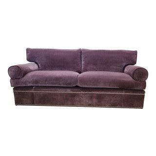 George Smith Fine Furniture Bolster Sofa For Sale