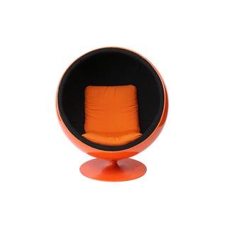 Eero Aarnio Orange Ball Chair For Sale