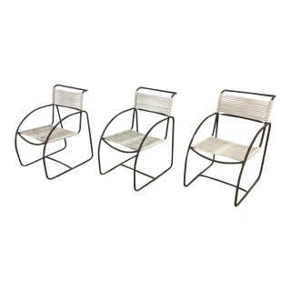 Kipp Stewart Tubular Bronze Chairs - Set of 8