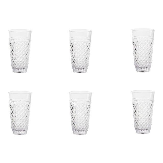 Villa Acrylic Highball Glasses - Set of 6 For Sale