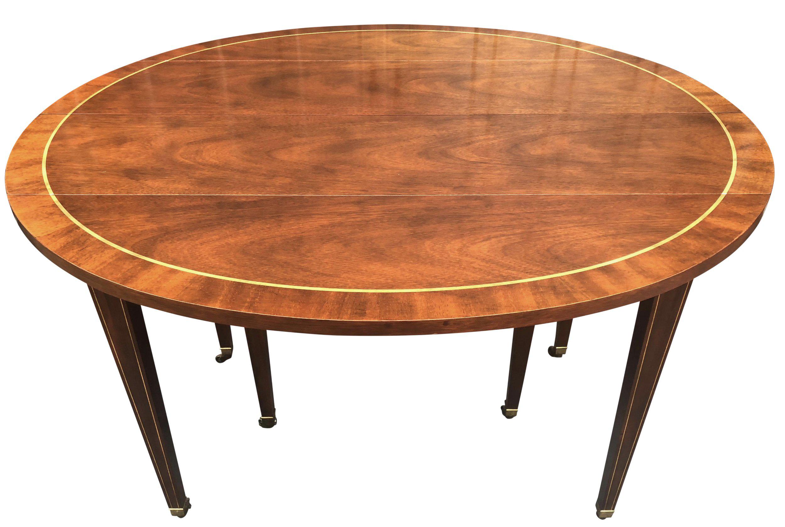 Exceptionnel Hollywood Regency Baker Furniture Dining Table