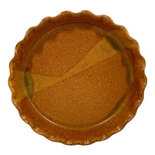 Pottery Pie Plate For Sale
