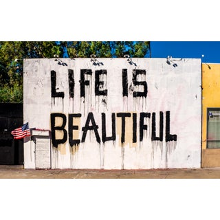 """""""Life Is - Los Angeles"""" Contemporary Street Art Photograph For Sale"""