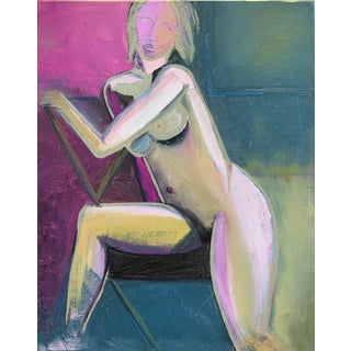 Contemporary Original Modern Nude Painting For Sale