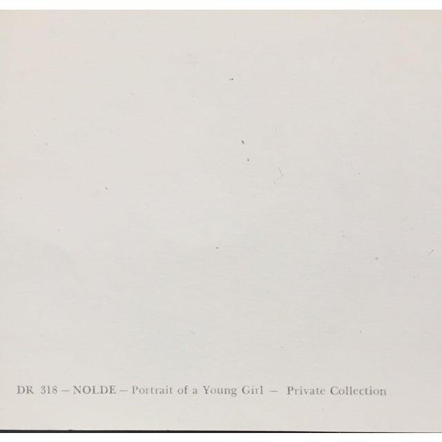 1960s Emile Nolde Watercolor Print - Image 4 of 6