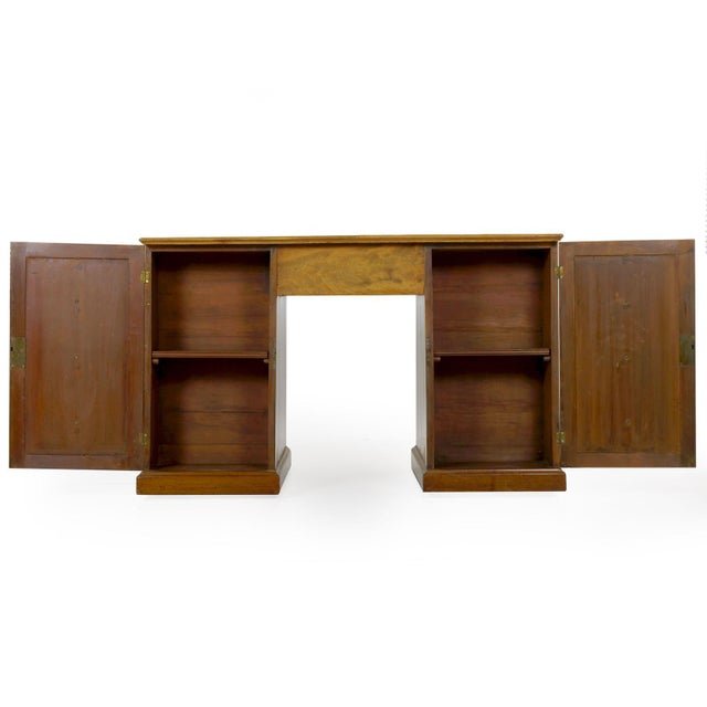A most attractive writing desk from the first half of the 19th century, it is a tidy and austere presentation with no...