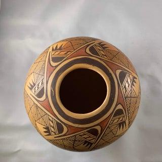 Late 20th Century Miriam Nampeyo Hopi Polychrome Seed Pot Preview