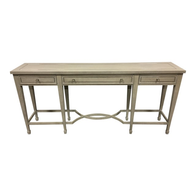 Bernhardt 3-Drawer Console Table - Image 1 of 6