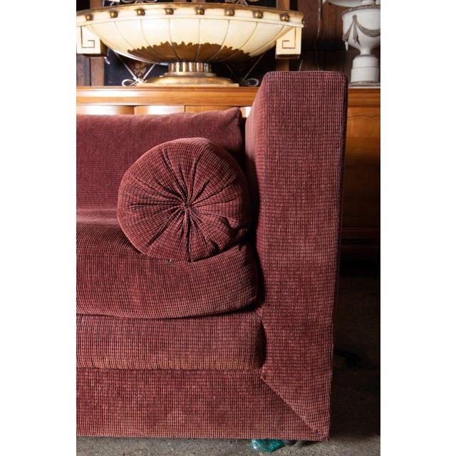 1990s Vintage Custom Made John Saladino Sofa For Sale - Image 12 of 34