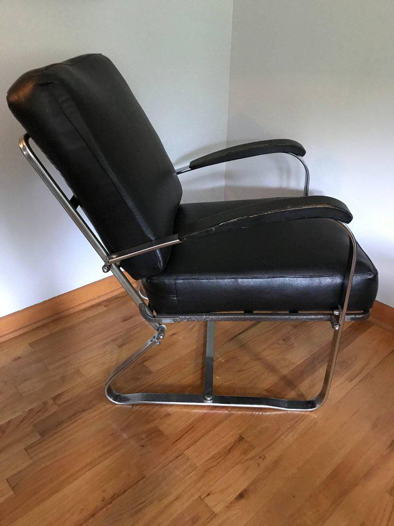 Art Deco Machine Age Chair By McKay   Image 2 Of 8