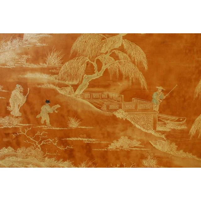 20th Century Chinese Painted Panel - Image 3 of 6