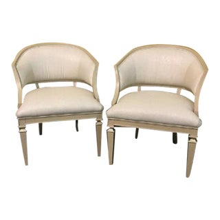 "Caracole Classic ""Sit Anywhere"" Chairs - a Pair For Sale"