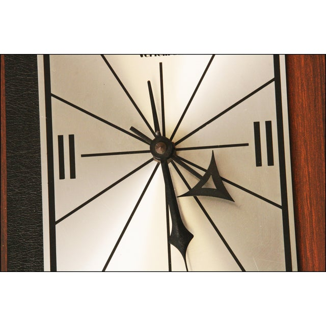 1960s Danish Modern George Nelson Style Wall Clock - Image 10 of 11