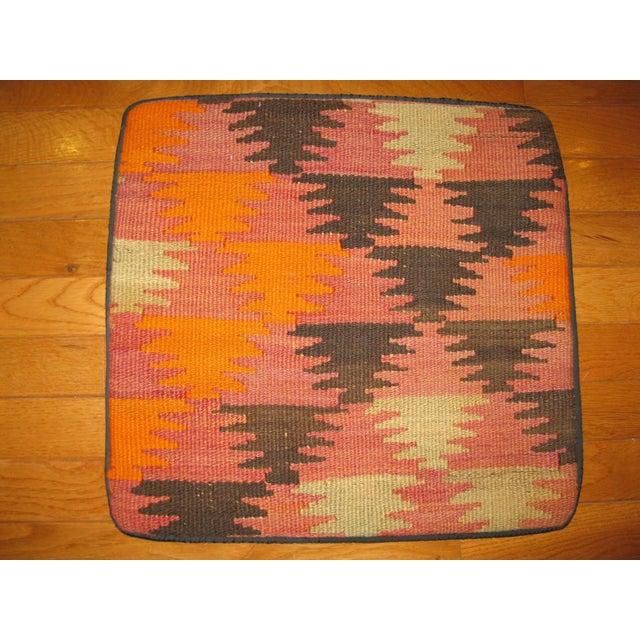 Vintage Kilim Pillow Cases - Set of 4 For Sale - Image 5 of 6