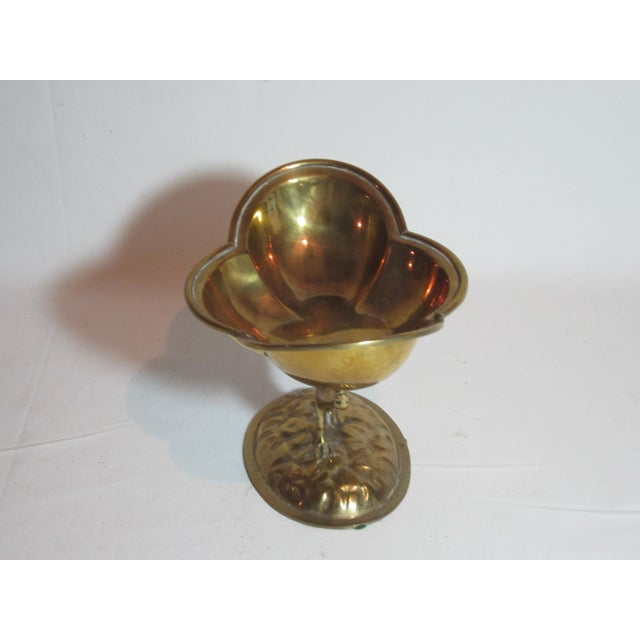 Solid Brass Bird Compote - Image 4 of 6