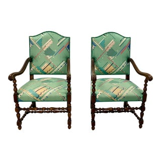 Vintage Mid Century Classic Armchairs - a Pair For Sale