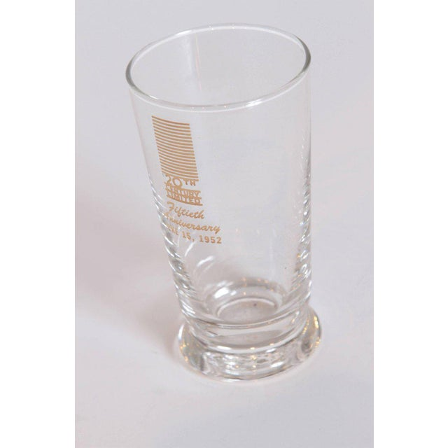 Glass Art Deco 20th Century Limited Glassware, Fiftieth Anniversary 1952, in Box For Sale - Image 7 of 11