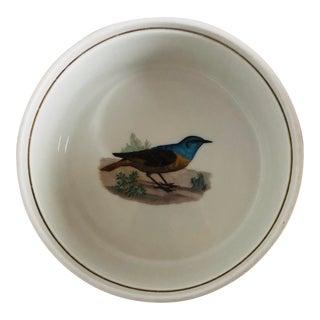 L Lourioux Le Faune Soufflé Porcelain Bowl For Sale