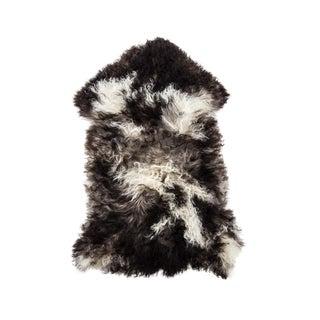 "Hand-Tanned Sheepskin Pelt Rug - 2'0""x3'1"" For Sale"
