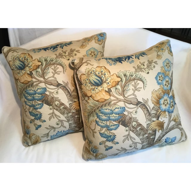 Ralph Lauren Pillow - Tree of Life Design - Pair Available For Sale - Image 9 of 13