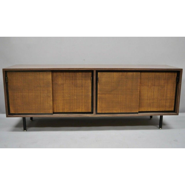 1970s Mid Century Modern Laminate Formica Case Credenza For Sale - Image 13 of 13