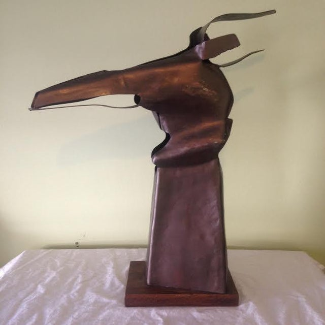 Abstract Rita Sargen-Simon Abstract Horse Head For Sale - Image 3 of 6