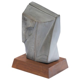 Art Deco Style Marble Sculpture For Sale