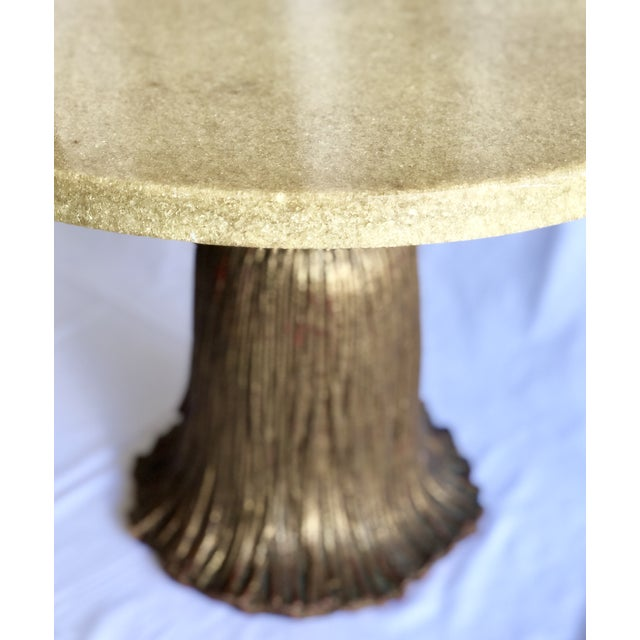 1970s 1970's Hollywood Regency Side Table For Sale - Image 5 of 6