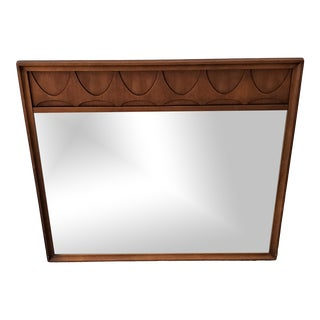 Broyhill Brasilia Walnut Mirror For Sale