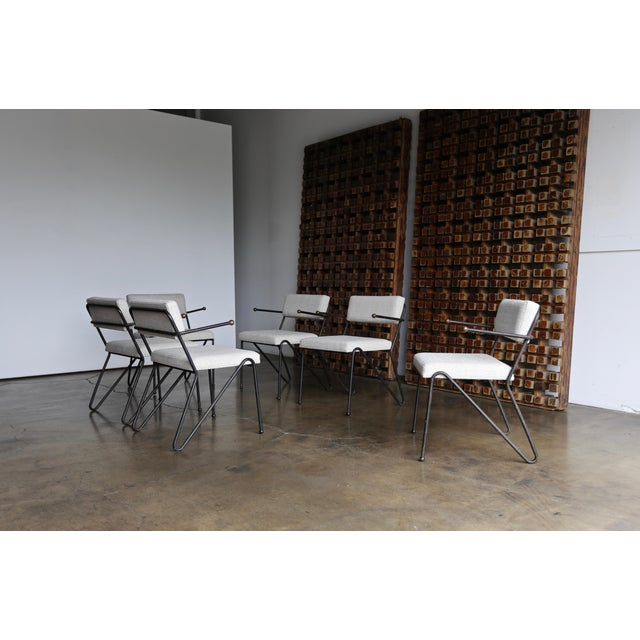 George Kasparian Dining Chairs, Circa 1950 For Sale - Image 11 of 11
