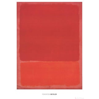Mark Rothko, Red & Orange, Edition: 500, 2015, Offset Lithograph For Sale