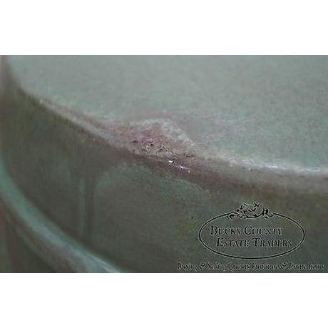 Green Vintage Chinese Celadon Garden Seat For Sale - Image 8 of 13