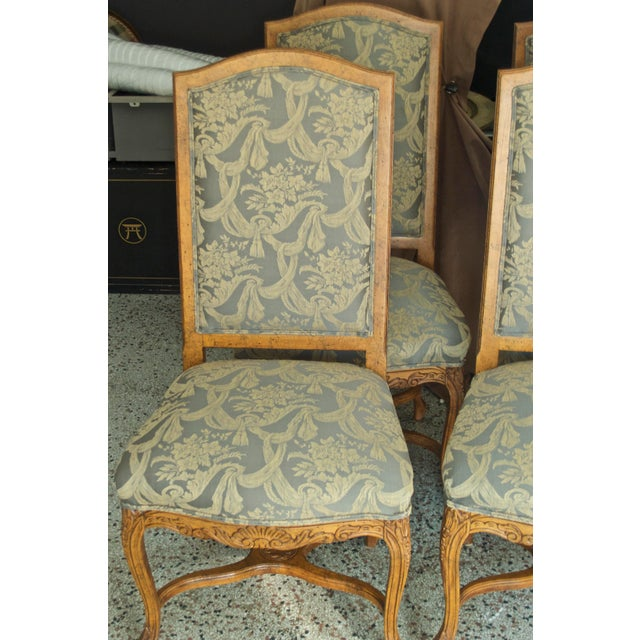 Green 1990s Vintage Fairfield Dining Chairs - Set of 6 For Sale - Image 8 of 12