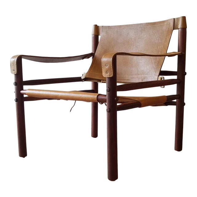 Vintage Sirocco Chair by Arne Norell For Sale