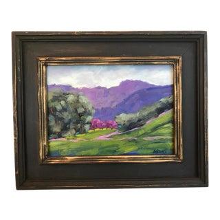 """Briones Regional Park"" Plein Air Oil Painting For Sale"