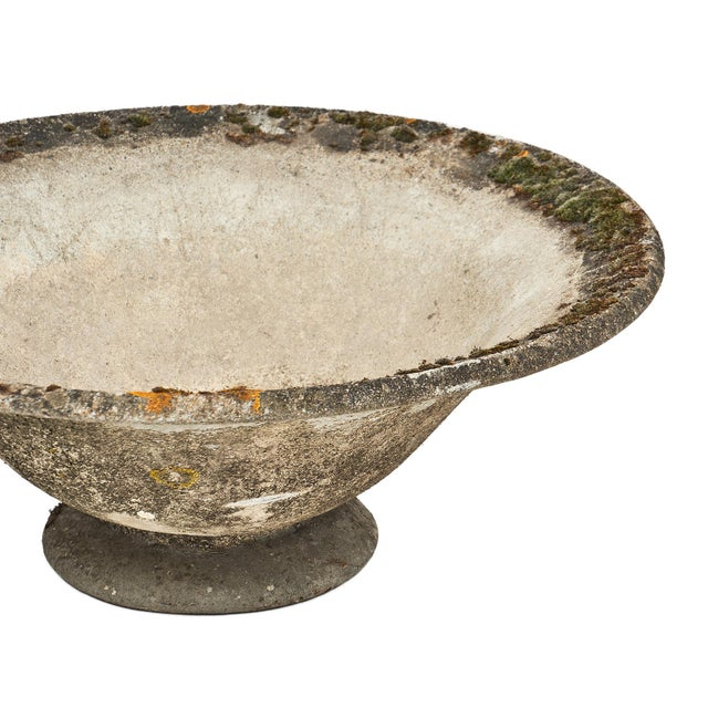 Vintage French Cement Jardiniere For Sale - Image 4 of 10