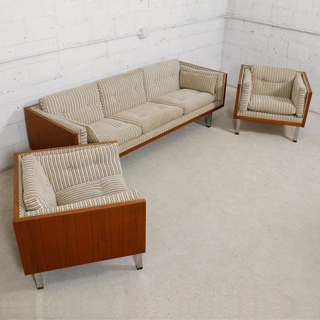 Jydsk of Denmark Interform Collection Teak Case Sofa - Image 7 of 8