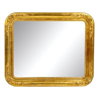 Victorian Giltwood Wall Mirror For Sale