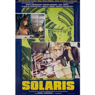 Solaris 1974 Italian Double Fotobusta Film Poster For Sale