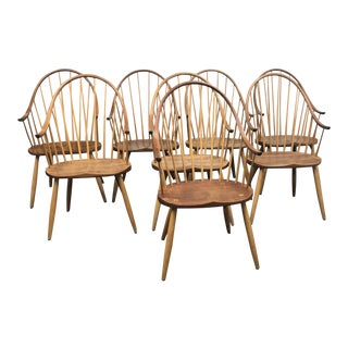 Thomas Moser Continuous Arm Dining Chairs - Set of 8