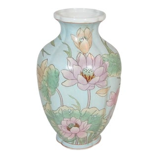 Chinese Decorative Floral Vase For Sale