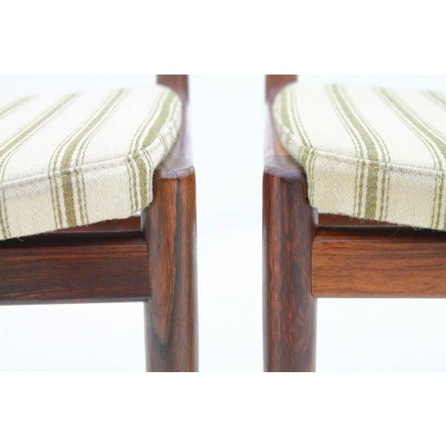 Pair of Side Chairs by Kai Lyngfeldt-Larsen for Søren Willadsen, Denmark, 1960s For Sale - Image 6 of 7