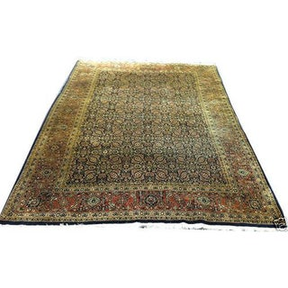 Persian Tabriz Fish Design Rug Jaipur Quality - 6' X 9' For Sale